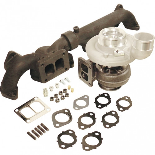 BD-Power 1045296 Iron Horn S366SXE/80 0.91 AR Turbo Kit 2007.5-2018 Dodge 6.7L Cummins