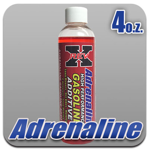 Adrenaline (Gas) Fuel Additive 4 oz. Bottle