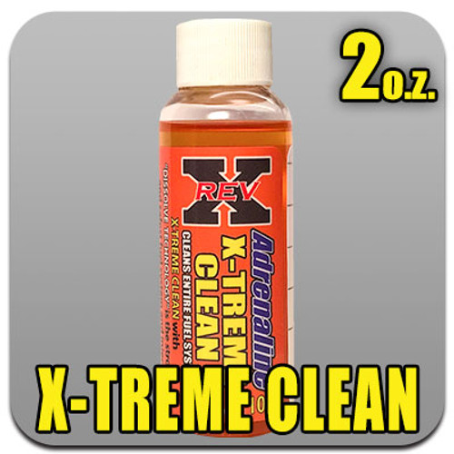 Adrenaline X-TREME Clean Fuel Additive 2 oz. Bottle