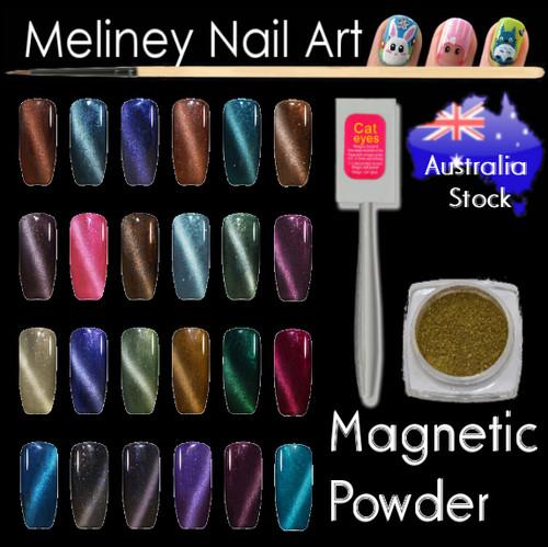 magnetic nail powder