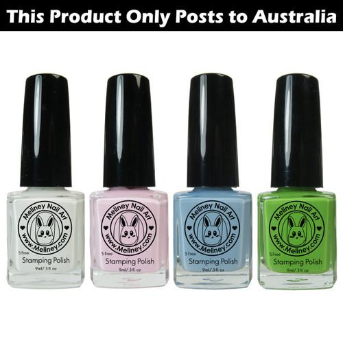 Meliney Nail Art Stamping Polish - Fairy Set 4pc