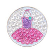 Bonjoc Ball Marker & Hat Clip - Seema Sparkle Line - TOTALLY TUTU
