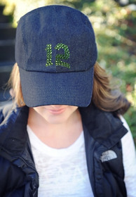 Dolly Mama Ladies Baseball Hat - 12th Man