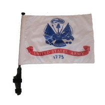 Army 11x15 inch Golf Cart Flag with Pole