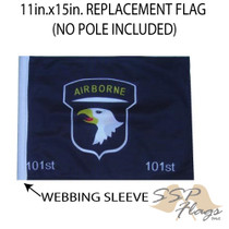 """Golf Cart Flags - 101st Airborne 11""""x15"""" Replacement Flag"""