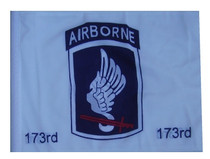"""Golf Cart Flags - 173rd Airborne 11""""x15"""" Replacement Flag"""