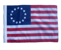 """Golf Cart Flags - BETSY ROSS 11""""x15"""" Replacement Flag"""
