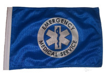 """Golf Cart Flags - EMS 11""""x15"""" Replacement Flag"""