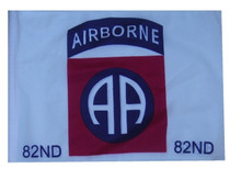 """Golf Cart Flags - 82nd AIRBORNE 11""""x15"""" Replacement Flag"""