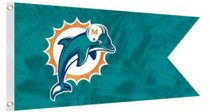 JTD: Golf Cart Flag 12' x 18' - NFL Miami Dolphins