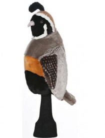 Daphne's HeadCovers: Quail Bird Golf Club Cover