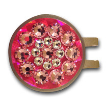 Blingo Ball Markers: Neon Pink Reflective