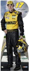 Lifesize Cardboard Cutout - Matt Kenseth - #17