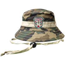 Caddyshack Carl Spackler Camo Bucket Hat with Bushwood Logo