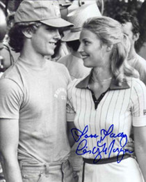 """Cindy Morgan """"Lacey Underall"""" Signed 8x10 Caddyshack Photo - Lacey & Danny"""