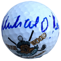 Michael O'Keefe Signed Caddyshack Golf Ball