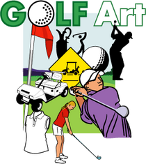 AdArt: Golf Art: Clip Art for Golf