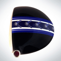 ClubCrown Stripes: Removable Driver Decal - Air Force