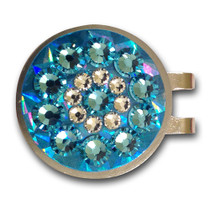 Blingo Ball Markers: Light Blue Reflective
