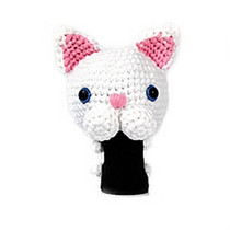 Amimono Animal Golf Driver Headcover - White Sphynx (C503-C)