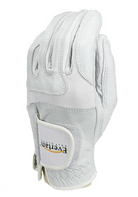 Evertan Women's Performance Golf Glove: Arctic White