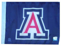 University of Arizona Wildcats 11in x 15in Golf Cart or Car Flag