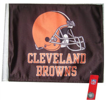 NFL Cleveland Browns 11in x 15in Golf Cart or Car Flag