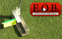 EOB Eye Over Ball Putting System Golf Training Aid
