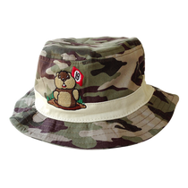 Caddyshack Camo Bucket Hat with Dancing Gopher Logo