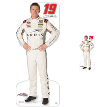Lifesize & Miniature Cardboard Cutout Combo - Carl Edwards 2015 #19 Arris