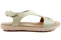 Sandbaggers Women's Golf Sandals: Carrie Pistachio