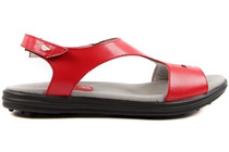 Sandbaggers Women's Golf Sandals: Carrie Red