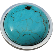 ReadyGolf - Gemstone Ball Marker - Howlite Turquoise