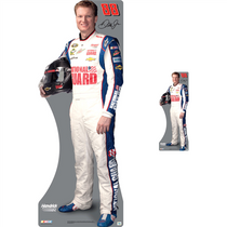 Lifesize & Miniature Cardboard Cutout Combo - Dale Earnhardt Jr. 2013 National Guard #88