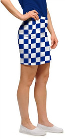Loudmouth Golf Womens Skort - Derby Chex