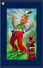 David O'Keefe/Devant: Al Czervik - A Tribute to Rodney Dangerfield Golf Towel
