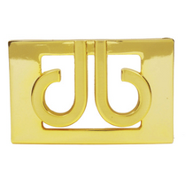 Druh 3D Gold Buckle by Druh Belts