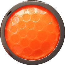 ReadyGolf - Golf Ball Skins Ball Marker & Hat Clip - Orange