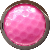 ReadyGolf - Golf Ball Skins Ball Marker & Hat Clip - Pink