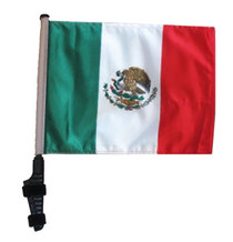 MEXICO 11x15 inch Golf Cart Flag with Pole