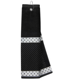Just 4 Golf Headcovers: Black Towel with Ribbon