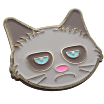 ReadyGolf - Grumpy Cat Ball Marker & Hat Clip