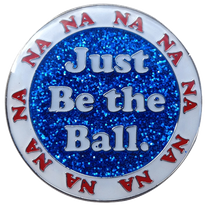 Caddyshack Golf Ball Marker & Hat Clip - Just Be The Ball (White)
