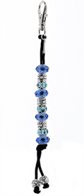 Navika Crystal Mantra Bead Golf Stroke Counter - Blue