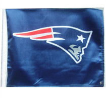NFL New England Patriots 11in x 15in Golf Cart or Car Flag