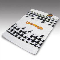 LoudMouth Golf Golf Bag Towel - Oakmont Houndstooth
