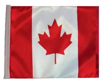 """Golf Cart Flags - Canada 11""""x15"""" Replacement Flag"""