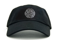 Dolly Mama Ladies Baseball Hat - Celtic Love Knot on Black