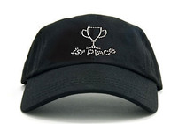 Dolly Mama Ladies Baseball Hat - First Place on Black
