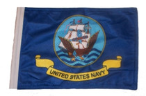 "Golf Cart Flags - NAVY 6""x9"" Replacement Flag"